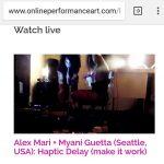 OPAF5 Alex Mari + Myani Guetta